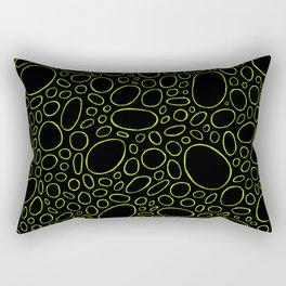 Organic - Lime Green Rectangular Pillow