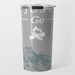Just Go - Moraine Lake Travel Mug