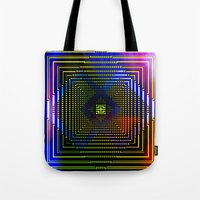 square Tote Bags featuring Square by Mr and Mrs Quirynen
