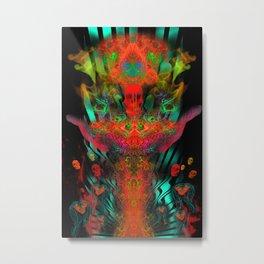 Atomic Psychedelia Metal Print