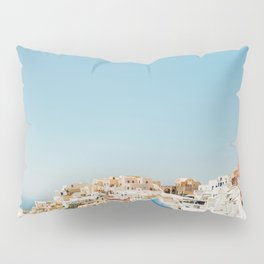 View of Santorini Island Greece Oia Pillow Sham