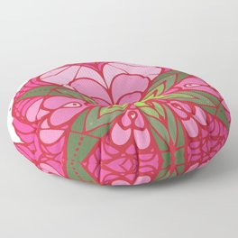 LOVE grows life seed Floor Pillow