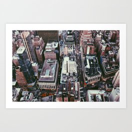 NYC, Sky View #1 Art Print