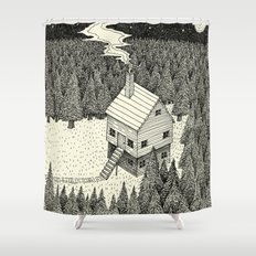 'The Middle Of Nowhere'  Shower Curtain