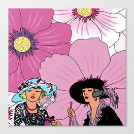 Good Afternoon Ladies Canvas Print