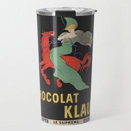 CHOCOLAT KLAUS FRENCH VINTAGE POSTER Travel Mug