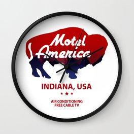 Motel America - American Gods Wall Clock