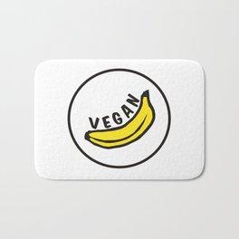 Vegan Badge of Honour - Banana ! Bath Mat