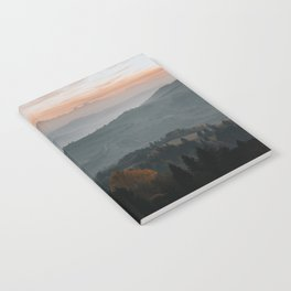Hazy Mountains - Landscape and Nature Photography Notebook