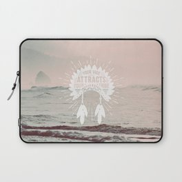 Your Vibe Attracts Your Tribe - Pacific Ocean Laptop Sleeve