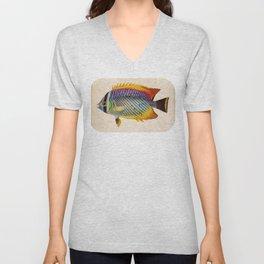 Blue Fish Unisex V-Neck