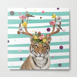 Queen Of The Jungle Metal Print