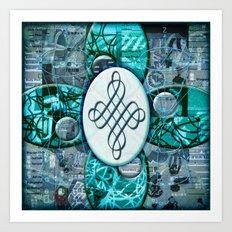 Jackie (#TheAccessoriesSeries) Art Print