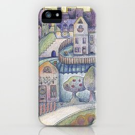 My little town iPhone Case