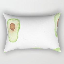 Avocado Rain Rectangular Pillow