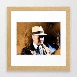 Raymond Reddington | Washes away the dust Framed Art Print