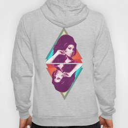 AmyWinehouse LowPoly Collection Hoody