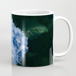 Blue Hydrangea Flower Coffee Mug