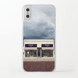 Summer storm | Marfa, Texas Clear iPhone Case