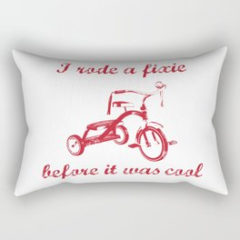 Trike-ster Rectangular Pillow