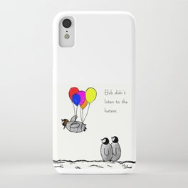 To be a Flying Penguin iPhone Case