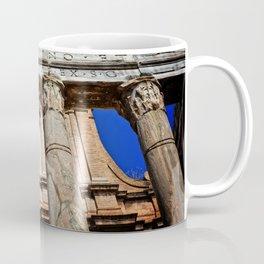 The Temple of Antonius & Faustina Coffee Mug
