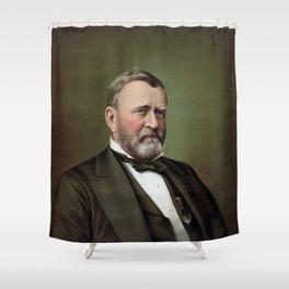 President Ulysses Grant Shower Curtain