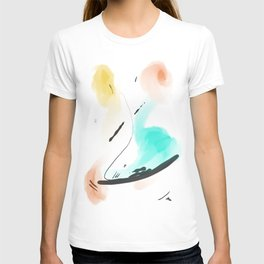 Abstract sunrise S3 T-shirt