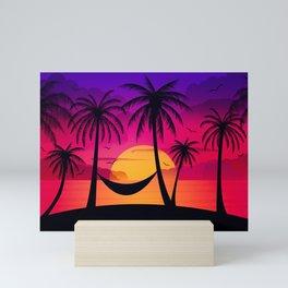 Summer Paradise V2 Mini Art Print