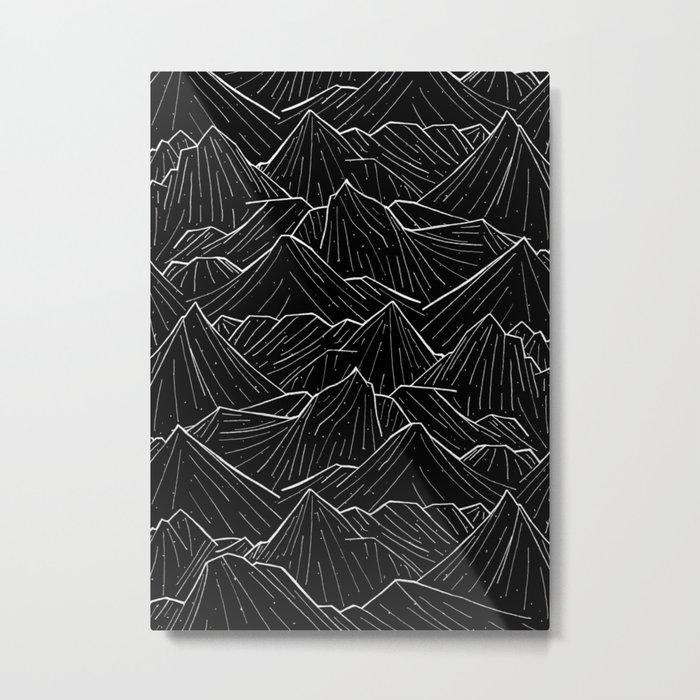 The Dark Mountains Metal Print