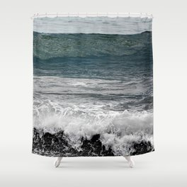Wave you later Shower Curtain