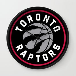 Toronto Raptor Logo Wall Clock