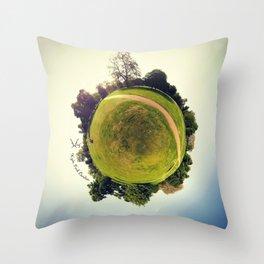 PARK PLANET PROJECT - HYDE PARK LONDON  Throw Pillow