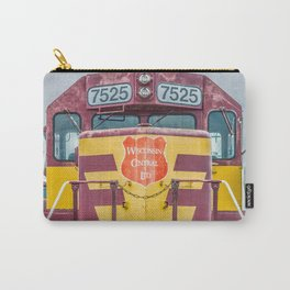 Wisconsin Central Ltd Engine 7525 Operation Lifesaver Livery Train Carry-All Pouch