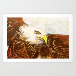 The eagle's spirit Art Print