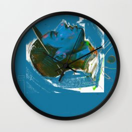 Blue Boy Wall Clock