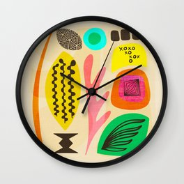 Knolling Formations 3 Wall Clock
