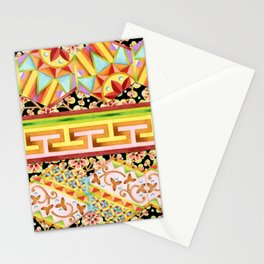 Gypsy Caravan Luxe Stripe Stationery Cards