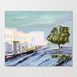 Nelson Place Williamstown Canvas Print