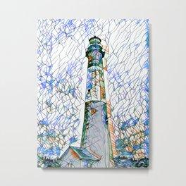 Tybee Island Lighthouse Metal Print