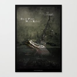 From Paris With Rana Canvas Print