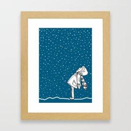 Snoweater Framed Art Print