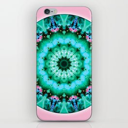 Mandalas from the Heart of Transformation 5 iPhone Skin