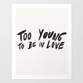 Young Unlover Art Print
