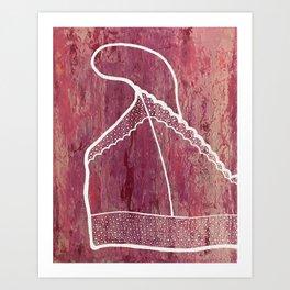Bralette Art Print