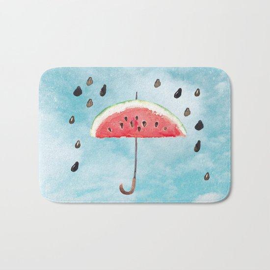 Melon- Fruity Summer Rain Bath Mat