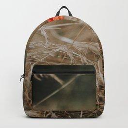 Single Poppy Backpack