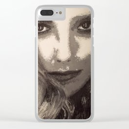 Supernatural: Claire Novak Clear iPhone Case