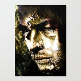 Todd's Mask Canvas Print