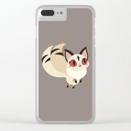 Little Flames Clear iPhone Case